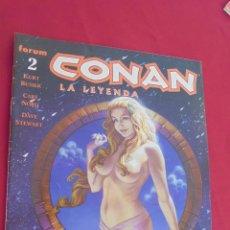 Cómics: CONAN EL BARBARO. ROY THOMAS. Nº 2. FORUM.. Lote 57815776