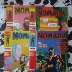 FORUM - SERIE LIMITADA 4 NUMEROS NOMADA COMPLETA . MBE