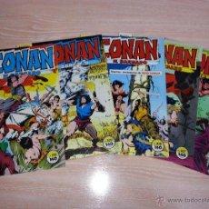 Cómics: CONAN EL BARBARO - COMICS FORUM - NÚMEROS 105 - 107 - 108 - 109 - 110 - LOTE DE CINCO COMICS. Lote 53228148