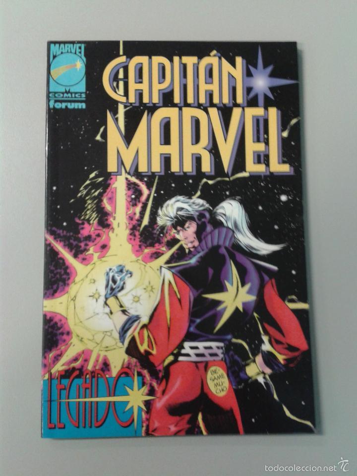 CAPITAN MARVEL, LEGADO POR FABIAN NICIEZA Y ED BENES. FORUM, PLANETA DE AGOSTINI, 1996 (Tebeos y Comics - Forum - Prestiges y Tomos)
