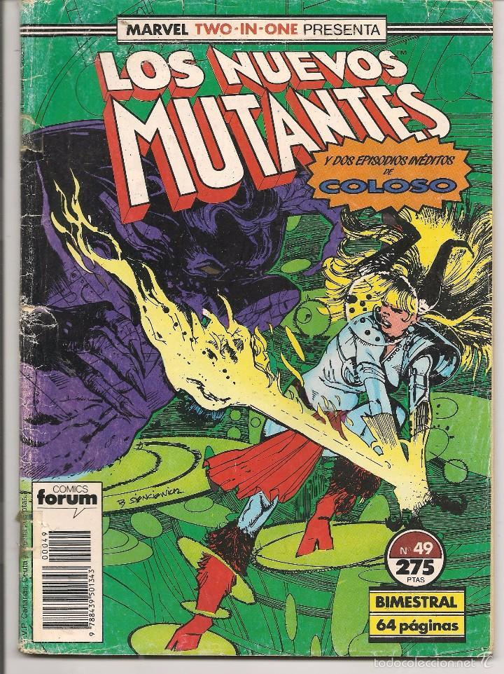 LOS NUEVOS MUTANTES. Nº 49. FORUM. (Z/C3 (Tebeos y Comics - Forum - Otros Forum)