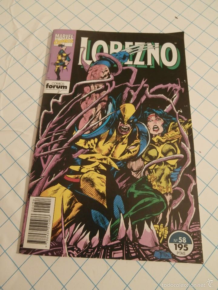 Cómics: Cómic Lobezno Forum nº 58 - Foto 1 - 57980616
