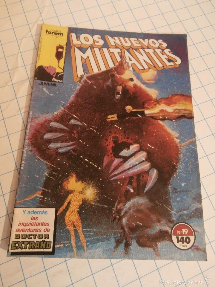 COMIC NUEVOS MUTANTES FORUM Nº 19 (Tebeos y Comics - Forum - Nuevos Mutantes)
