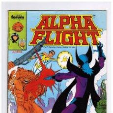 Comics: ALPHA FLIGHT VOL 1 Nº 16 - FORUM. Lote 58014594