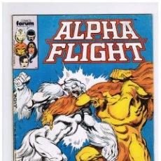 Comics: ALPHA FLIGHT VOL 1 Nº 18 - FORUM. Lote 58014682