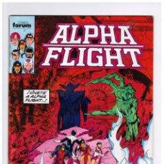 Comics: ALPHA FLIGHT VOL 1 Nº 19 - FORUM. Lote 58014695