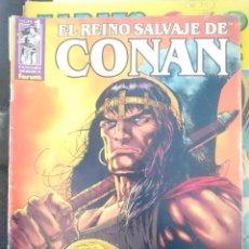 Cómics: EL REINO SALVAJE DE CONAN - N 1 - ED. FORUM -REFM1E3. Lote 58068829