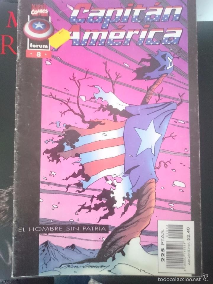 CAPITAN AMERICA - N 8 - EL HOMBRE SIN PATRIA - ED, FORUM (Tebeos y Comics - Forum - Capitán América)