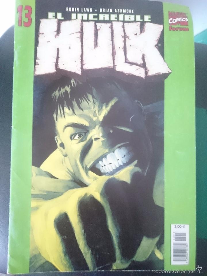 COMIC EL INCREIBLE HULK - FORUM NUMERO 13 --REFM1E4 (Tebeos y Comics - Forum - Hulk)