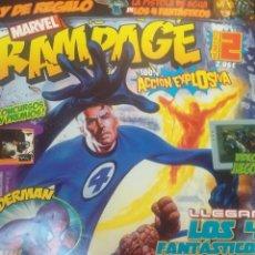 Cómics: RAMPAGE Nº 2 . Lote 53512219