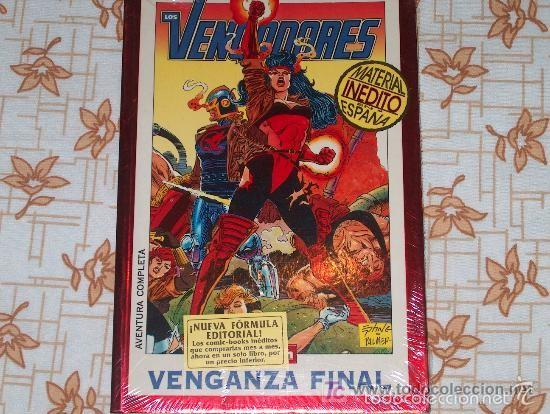 GRANDES SAGAS: VENGADORES - TOMO 2 VENGANZA FINAL (Tebeos y Comics - Forum - Vengadores)