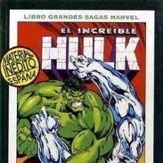 Cómics: EL INCREIBLE HULK. GRANDES SAGAS MARVEL. FANTASMAS DEL PASADO Nº2. Lote 58109122