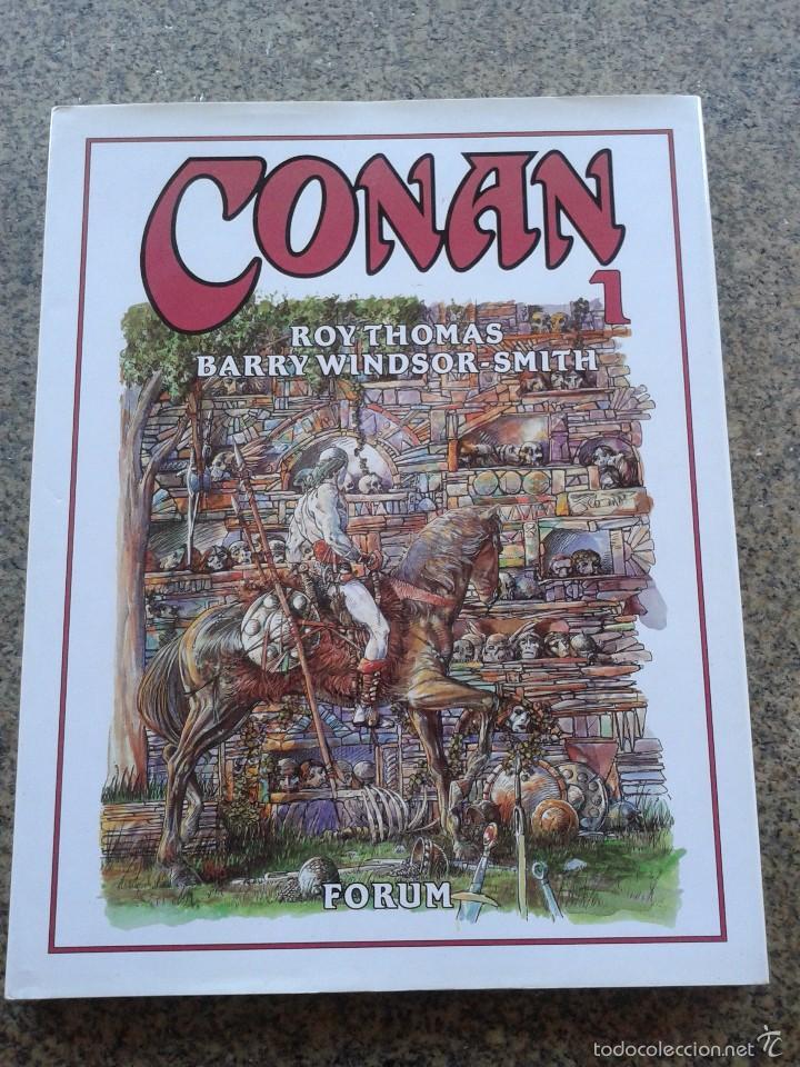 CONAN -- TOMO 1 -- ROY THOMAS & BARRY WINDSOR-SMITH -- FORUM -- (Tebeos y Comics - Forum - Conan)
