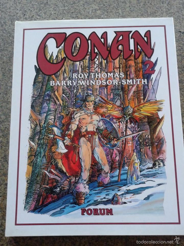 CONAN -- TOMO 2 -- ROY THOMAS & BARRY WINDSOR-SMITH -- FORUM -- (Tebeos y Comics - Forum - Conan)