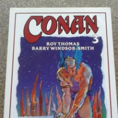 Cómics: CONAN -- TOMO 3 -- ROY THOMAS & BARRY WINDSOR-SMITH -- FORUM --. Lote 58117630