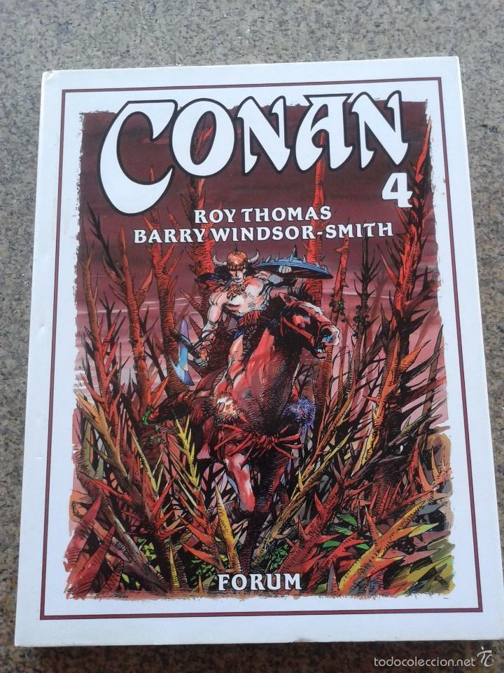 CONAN -- TOMO 4 -- ROY THOMAS & BARRY WINDSOR-SMITH -- FORUM -- (Tebeos y Comics - Forum - Conan)