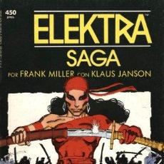 Cómics: ELEKTRA SAGA Nº 1 DE FRANK MILLER (FORUM, 1989). Lote 58131459