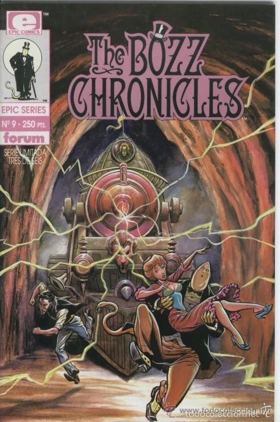 EPIC SERIES Nº 9 THE BOZZ CHRONICLES 3 - FORUM - IMPECABLE (Tebeos y Comics - Forum - Otros Forum)