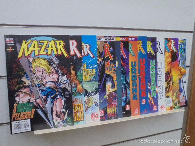 KA-ZAR ETAPA WAID Y KUBERT COMPLETA 14 NUMEROS FORUM OFERTA KAZAR (Tebeos y Comics - Forum - Otros Forum)