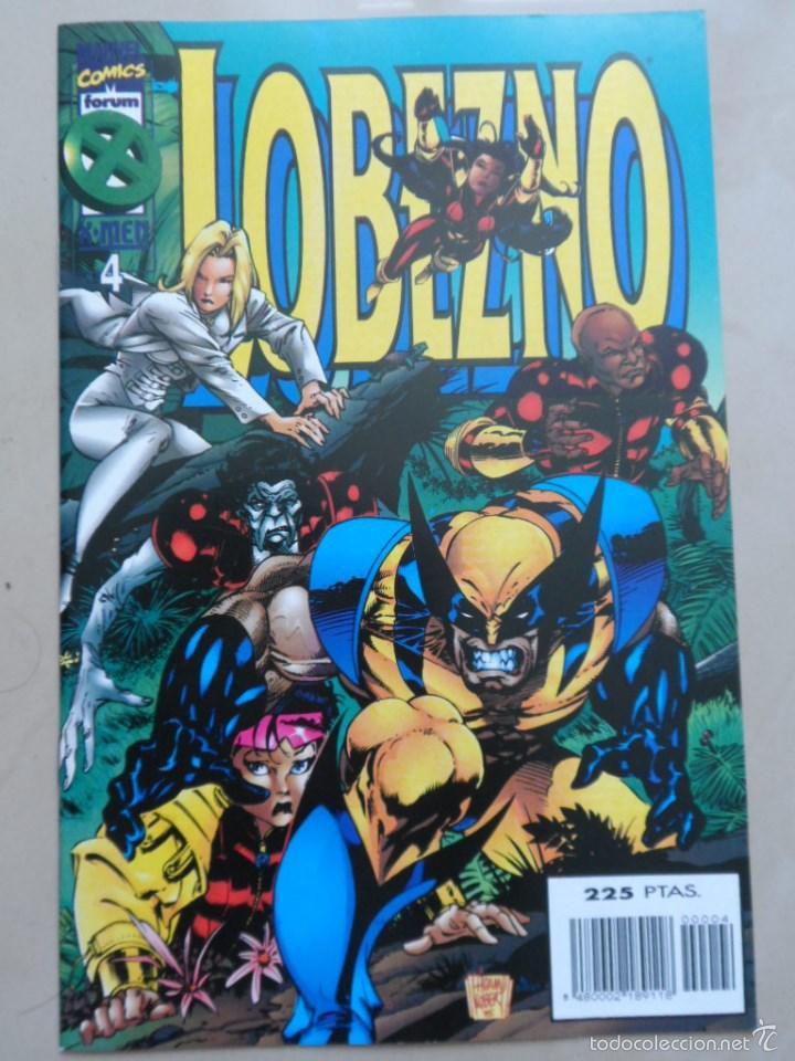 LOBEZNO VOL.2 Nº 4 - POSIBLE ENVÍO GRATIS - FORUM - LARRY HAMA & CHRIS ALEXANDER (Tebeos y Comics - Forum - Patrulla X)