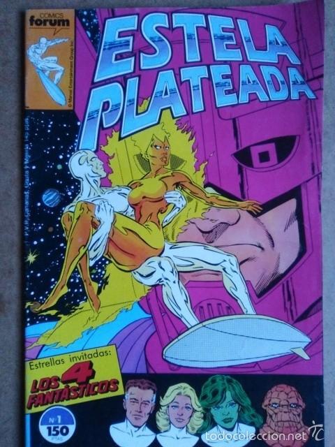 ESTELA PLATEADA VOL. 1 Nº 1 - FORUM (Tebeos y Comics - Forum - Silver Surfer)