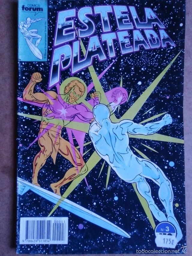ESTELA PLATEADA VOL. 1 Nº 3 - FORUM (Tebeos y Comics - Forum - Silver Surfer)