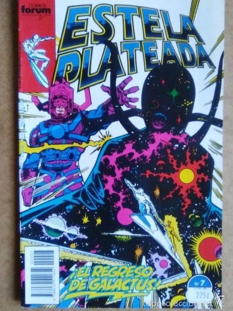 ESTELA PLATEADA VOL. 1 Nº 7 - FORUM (Tebeos y Comics - Forum - Silver Surfer)