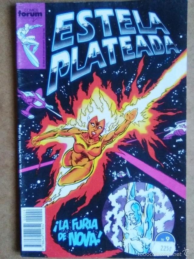 ESTELA PLATEADA VOL. 1 Nº 9 - FORUM (Tebeos y Comics - Forum - Silver Surfer)
