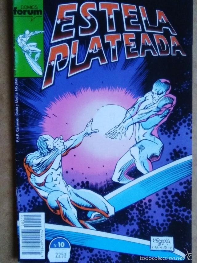 ESTELA PLATEADA VOL. 1 Nº 10 - FORUM (Tebeos y Comics - Forum - Silver Surfer)