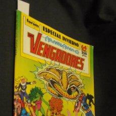 Cómics: LOS VENGADORES - ESPECIAL INVIERNO - FORUM - CONTIENE POSTER CENTRAL. Lote 58263934