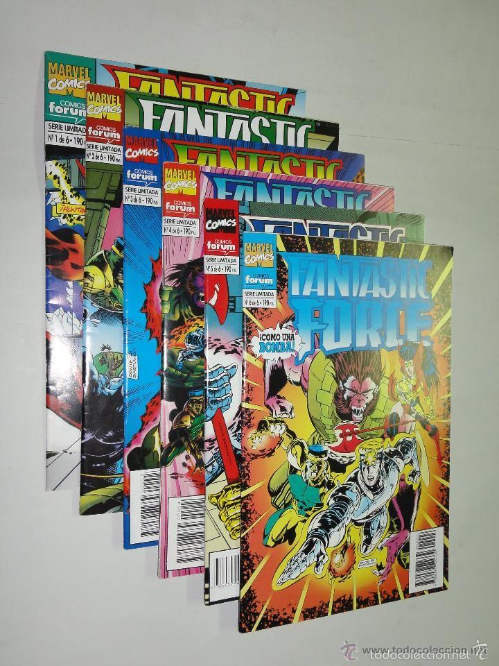 FANTASTIC FORCE COMPLETA 6 NUMEROS - FORUM - IMPECABLE (Tebeos y Comics - Forum - Otros Forum)
