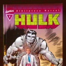Cómics: BIBLIOTECA MARVEL HULK Nº 1. Lote 58282094