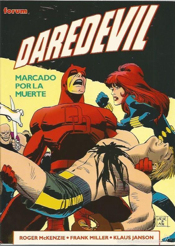 DAREDEVIL: MARCADO POR LA MUERTE (FORUM,1994) - OBRAS MAESTRAS # 12 - FRANK MILLER (Tebeos y Comics - Forum - Daredevil)