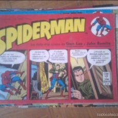 Cómics: SPIDERMAN NºS 1 Y 8 TIRAS DE PRENSA - POSIBILIDAD DE NºS SUELTOS. Lote 58304210