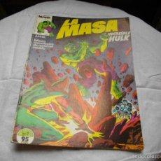 Cómics: COMICS - FORUM - LA MASA - Nº 7 - VER FOTOS - MIRAR TODOS MIS LOTES DE TEBEOS. Lote 58320434