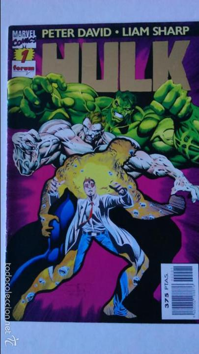 COMIC HULK Nº 1 PETER DAVID LIAM SHARP. (Tebeos y Comics - Forum - Hulk)