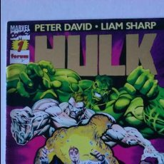 Cómics: COMIC HULK Nº 1 PETER DAVID LIAM SHARP.. Lote 58322707