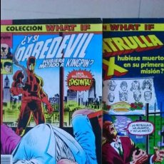 Cómics: LOTE DE 4 COMIS WHAT IF 9 - 14 -17 -19. Lote 58322782