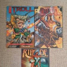 Cómics: LOTE DE IMAGE COMICS - PRESTIGIOS (TROLL CHAPEL RIPTIDE) (FORUM WORLD COMICS). Lote 58338209
