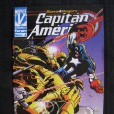 Cómics: CAPITAN AMERICA - Nº 4 - FORUM.. Lote 58394092