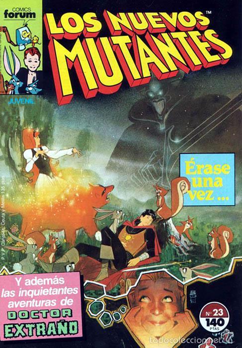 LOS NUEVOS MUTANTES VOL.1 Nº 23 - FORUM (Tebeos y Comics - Forum - Nuevos Mutantes)