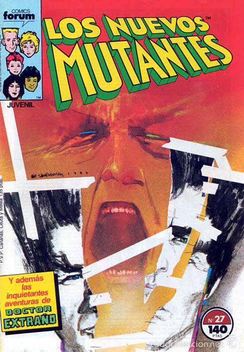 LOS NUEVOS MUTANTES VOL.1 Nº 27 - FORUM (Tebeos y Comics - Forum - Nuevos Mutantes)