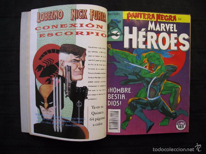 Cómics: MARVEL HEROES - PANTERA NEGRA - RETAPADO - DEL Nº 45 AL Nº 49 - FORUM. - Foto 5 - 58449086