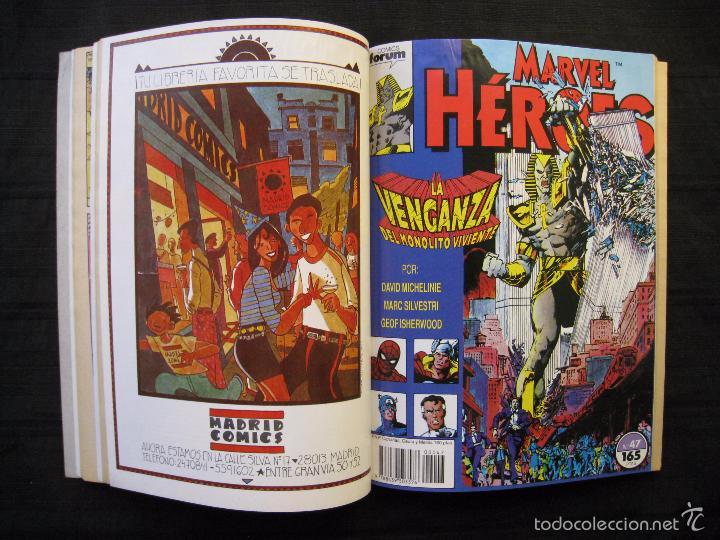 Cómics: MARVEL HEROES - PANTERA NEGRA - RETAPADO - DEL Nº 45 AL Nº 49 - FORUM. - Foto 6 - 58449086