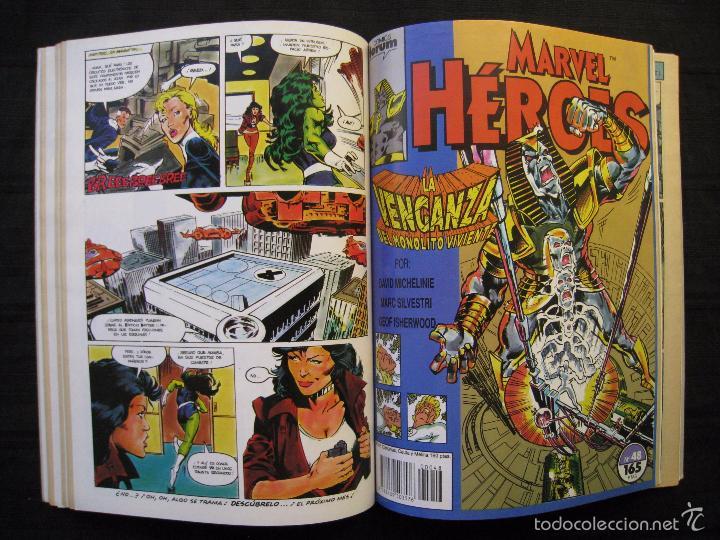 Cómics: MARVEL HEROES - PANTERA NEGRA - RETAPADO - DEL Nº 45 AL Nº 49 - FORUM. - Foto 7 - 58449086