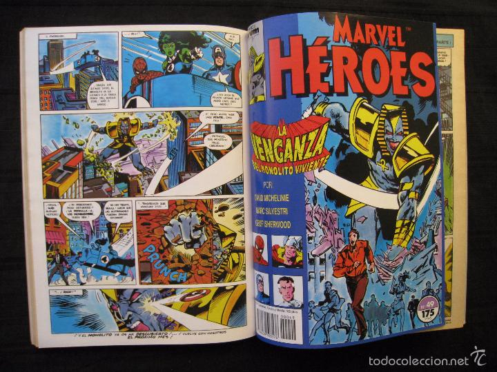 Cómics: MARVEL HEROES - PANTERA NEGRA - RETAPADO - DEL Nº 45 AL Nº 49 - FORUM. - Foto 8 - 58449086
