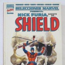 Cómics: SELECCIONES MARVEL NICK FURIA AGENTE DE SHIELD. Lote 58487468