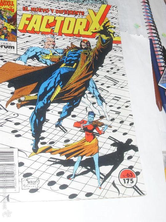 FACTOR X. Nº 63. VOL. 1. MARVEL COMICS. FORUM. (Tebeos y Comics - Forum - Factor X)