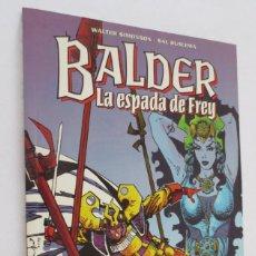 Cómics: BALDER LA ESPADA DE FREY. Lote 58531745