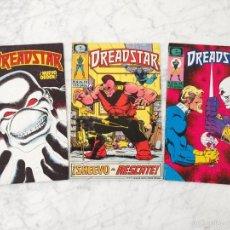 Cómics: DREADSTAR - LOTE DE 3 CÓMICS - NºS 11-12-14 - EPIC COMICS - 1986. Lote 58532166